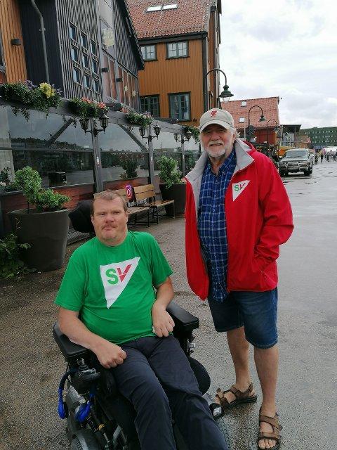 Kristian Sommerseth og Heming Olaussen