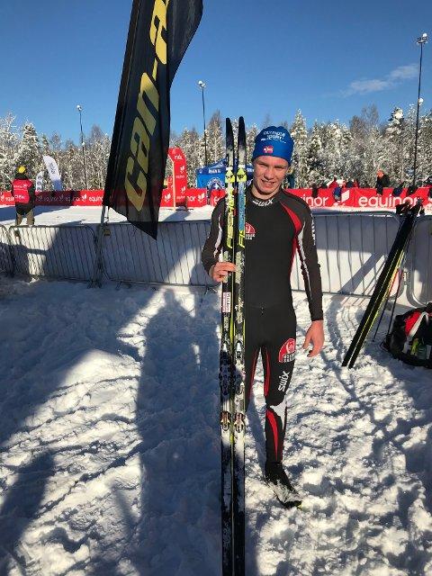 KM-GULL: Markus Fet Støtvig vant KM-gullet i M19-20.