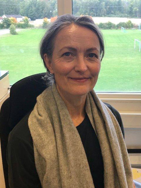 DRAR VIDERE: — Kongseik har flotte fargerike, herlige ansatte som gjør en fabelaktig jobb for barn og unge, sier avtroppende rektor Inga Marie Klæboe Faleide.