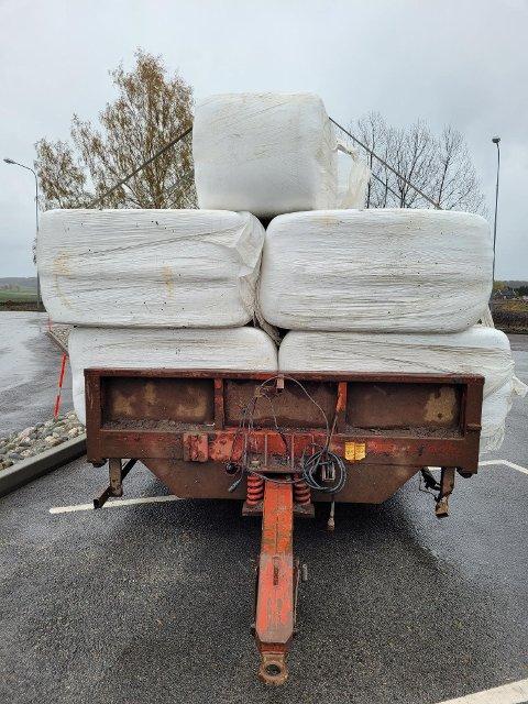 Tilhenger uten brems, oppdaget under kontrollen i Tønsberg onsdag.