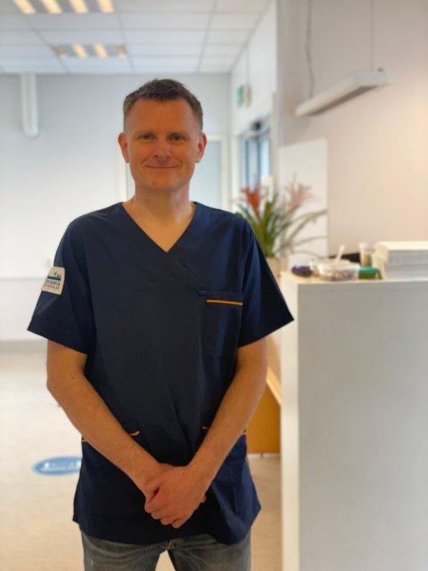 I NY KJEDE: Vestre Toten Dyreklinikk blir en del av Evidensia-kjeden. Klinikkleder Jens Gaarder Skaug (bildet) sier at det blant annet sikrer større faglig miljø.