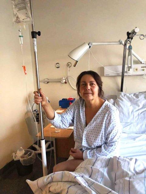 GIR IKKE OPP: Eldbjørg Aune og familien gjør alt de kan for at hun skal få leve lengre tross at hun har kreft i bukspyttkjertelen. En Spleis-aksjon skal bidra til behandling i utlandet.