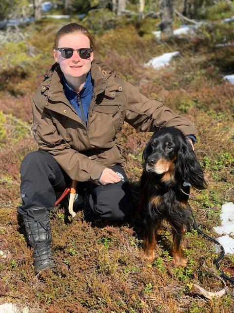 MYE PÅ TUR: Margrete Bragstad Teveldal bytter ut svenske skoger med terrenget i Meråker fra 26. april.