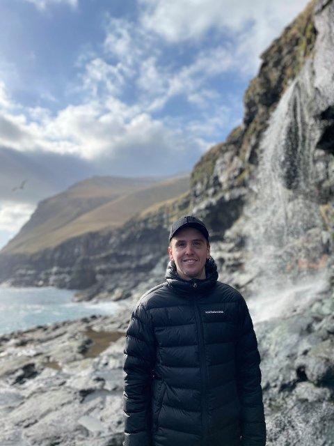 TRIVES: Ivar Sollie Rønning trives på Færøyene.