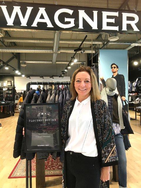 Sterke resultater: Kristin Songe Bakken driver Wagner-kjedens flotteste butikk. Kun to butikker omsetter for mer enn butikken på Grisen Storsenter!