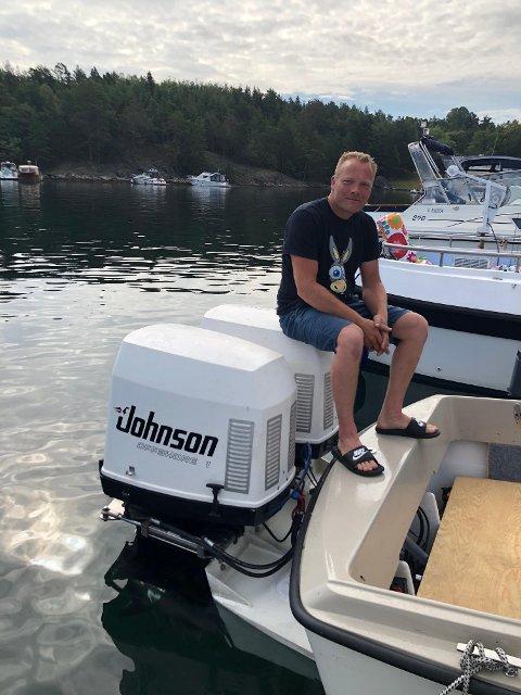 Arne Johan Mannes: Sjøsatte sin ombygde Fjordling på Østerå tidligere denne uka.