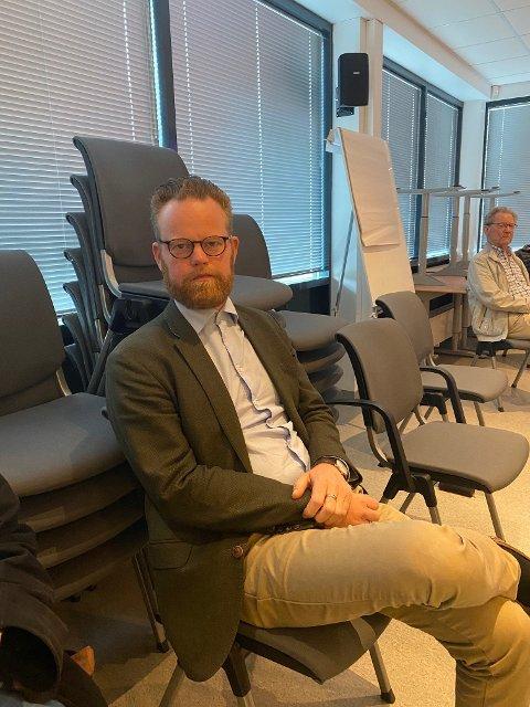 Ole Brodersen: Mener velforeningen burde vært invitert på presentasjonsmøte, selv om de mest trolig hadde takket nei.