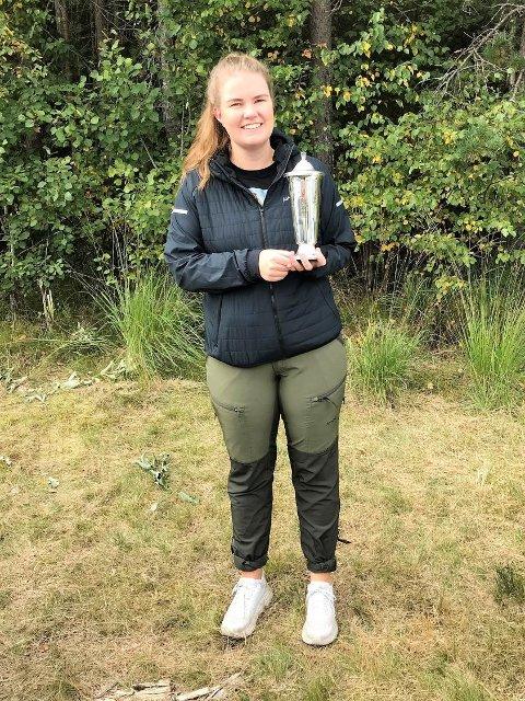 Nina Alfsen: Har drevet med skyting siden hun var 10 år gammel. De siste seks årene har hun forsøkt seg  på Æresprisen, og i år klaffet det.