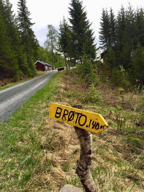 Historisk grunn: Laurdag 23. juni blir det tur til husmannsplassen Brøto, der opningssekvensen i filmen Jens von Bustenskjold, frå 1958, vart spelt inn.