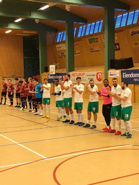 Herrefinalen: Rommen Sportsklubb vant 3-2 mot Valdres FK.