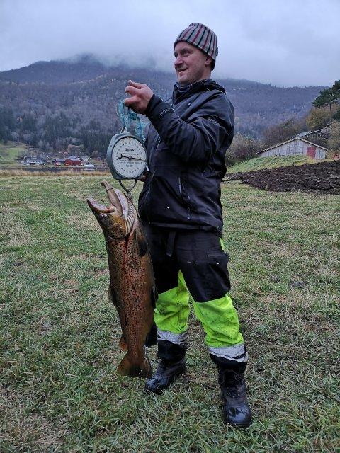 Marek Fijalkowski-Bojarski, opprinnelig fra Polen men nå bosatt i Øye, har observert giganten ved flere anledninger.
