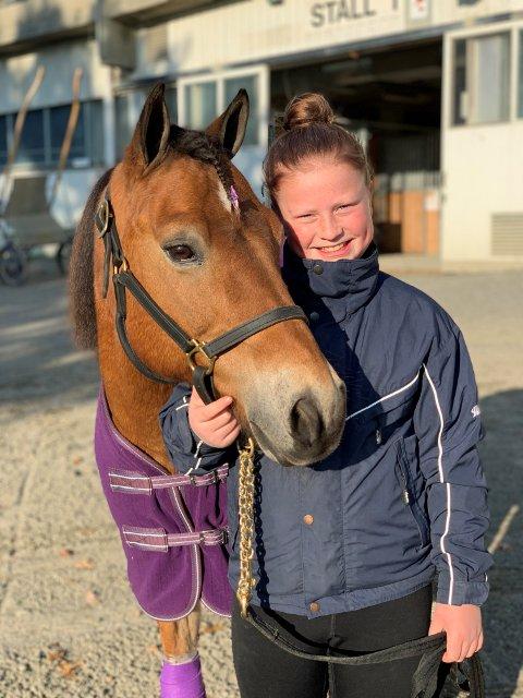 Fersk: Tuva Lien har ikke mange løpene bak seg, men hun kjørte virkelig som en proff.