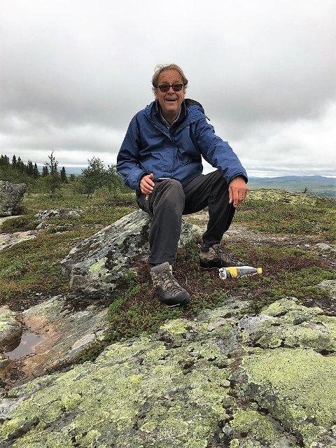 I Valdres: Henning Dypvik er ofte på hytta i Tisleidalen.