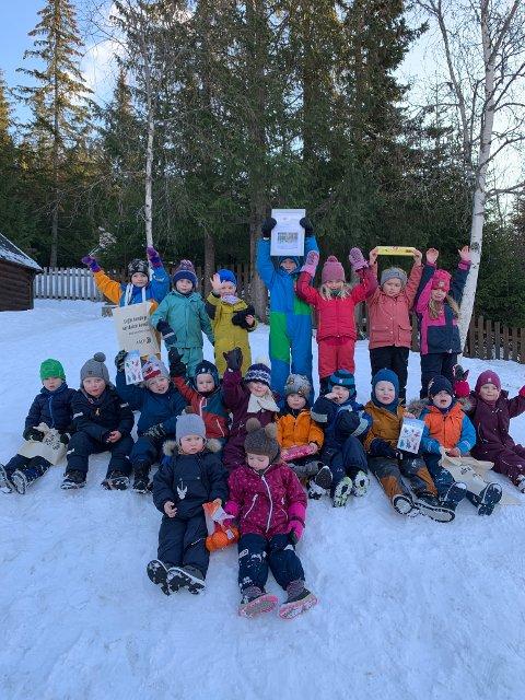 Ranheim: - Hvert år inviterer vi barnehagene i Valdres til å delta på pepperkakehusutstillingen, men i år var det kun to barnehager som deltok, Ranheim naturbarnehage og Skrautvål barnehage.