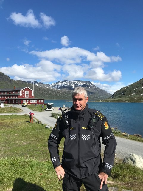 Bård Sørumshaugen hadde en god dag på jobben mandag. Foto:Privat