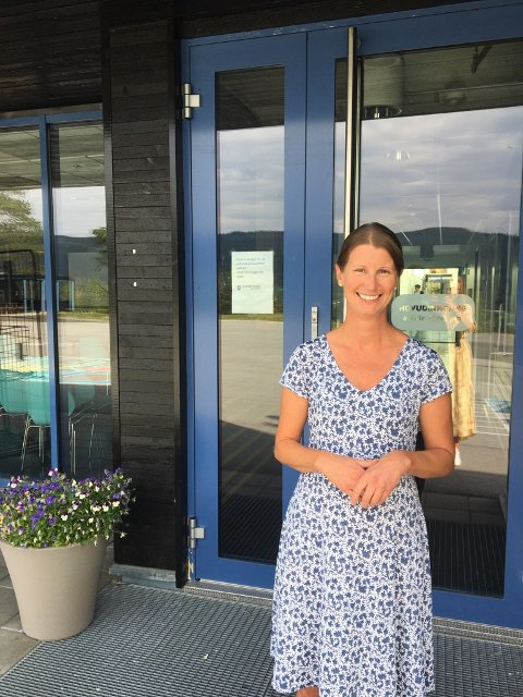 Gleder seg: - Jeg gleder meg til første skoledag i Rogne, sier nytilsatt rektor Kjersti Hedalen Heggset.