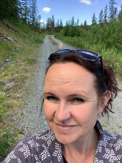 Berit Dokkebakke Navrud fra Reinli gleder seg til å tiltre i ny jobb i Vestre Slidre. Foto:Privat
