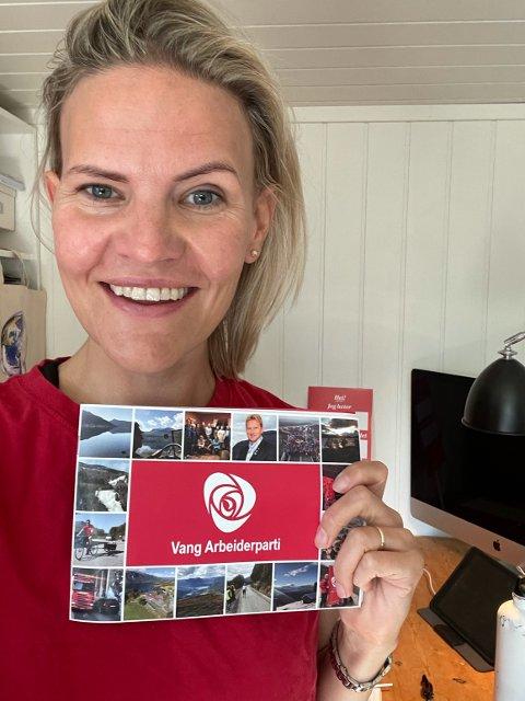 Fornøyd: Marta Bjørnøy Lalim er glad for at Arbeiderpartiet fatta det historiske vedtaket lørdag. Hun deltok som delegat for Vang Arbeiderpartiet under landsmøtet.