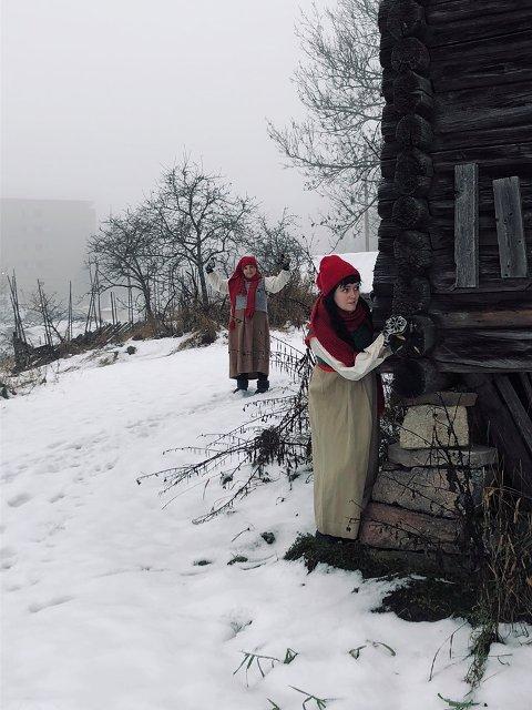 JENTUNGEN: Christina Strøm har rollen som Jentungen.