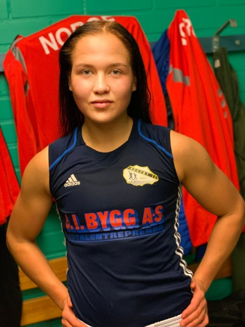 Klar til kamp: Madeleine Angelsen fra Vestby er klar til å bite godt fra seg i tirsdagens kvartfinale i U22 EM i Russland