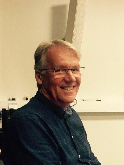 Næringssjef i Nøtterøy Kommune, Jonathan Hall, samarbeider med Trine Tenvik om Gründerhuset Hi5 og åpningen torsdag.