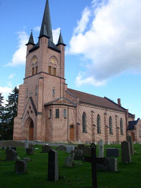 Foto: September 2006. Tingelstad nye kirke.