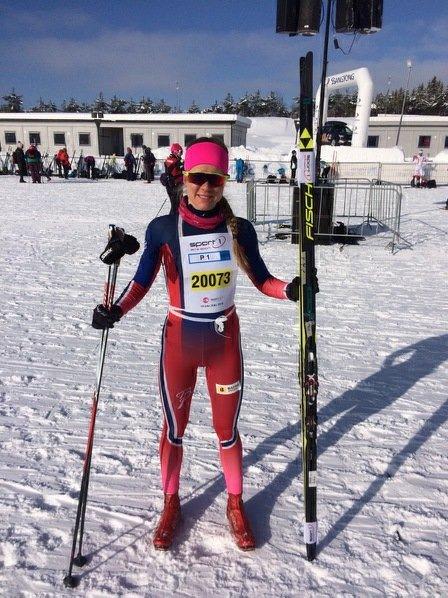 NM: Marie Reneè Sørum Gangsø fra Svea Skilag satser på NM på Lygna i 2019. Denne helga går hun NM i Alta. Arkivfoto