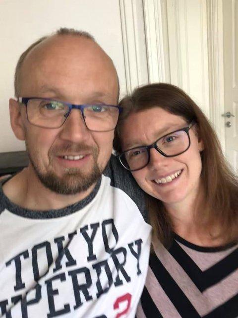 ALLSANG-FRIEREN: Det var Jan Bakkejordet fra Valdres som fridde til sin Marit Bakke på Place D'Armes onsdag kveld.