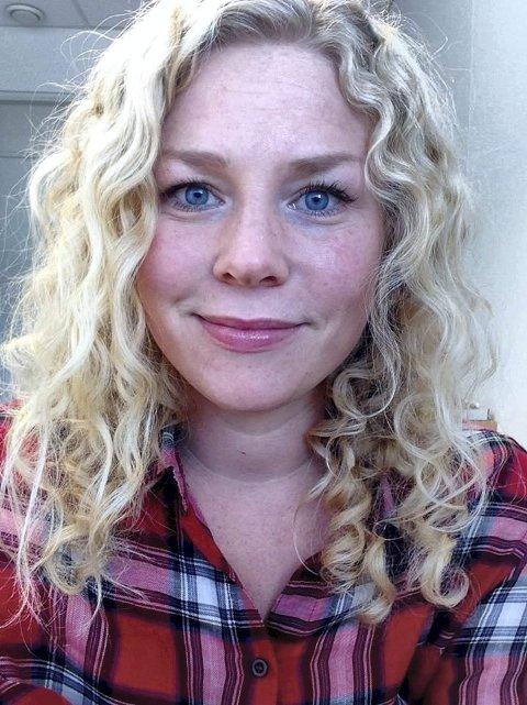 Nå gjelder det: Julie Guttormsen, 7. kandidat til høstens stortingsvalg.foto: MDG