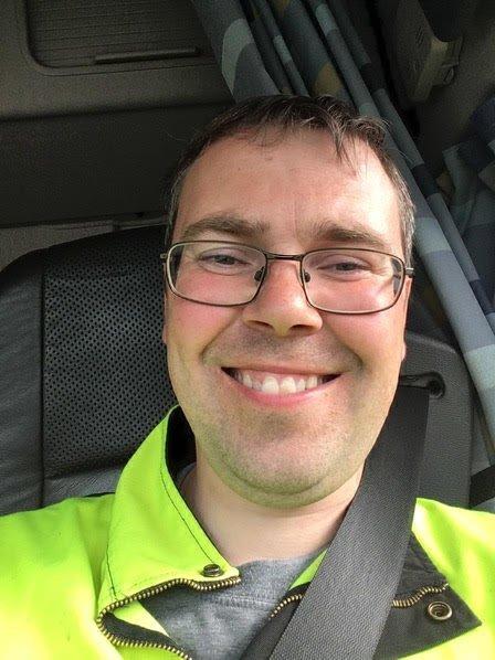 OMKOM: Det var 37 år gamle Esben Sørensen som omkom i ulykken på E6 30. mars 2020. Bildet publiseres i samråd med familien.