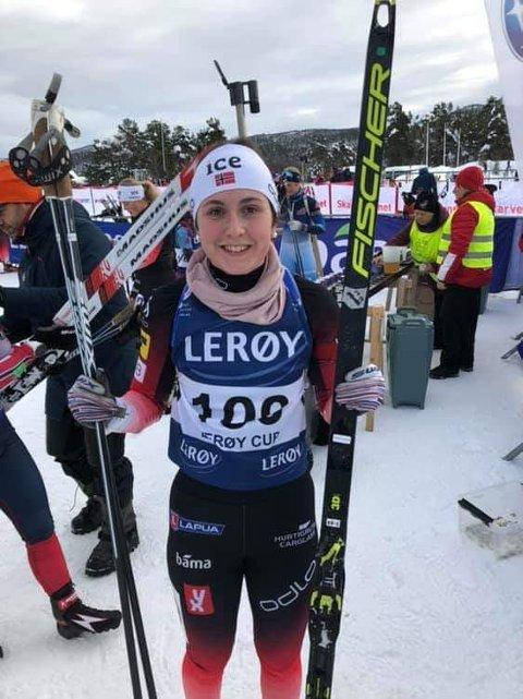 Marthe Kråkstad Johansen leverte en ny god konkurranse i norgescupen