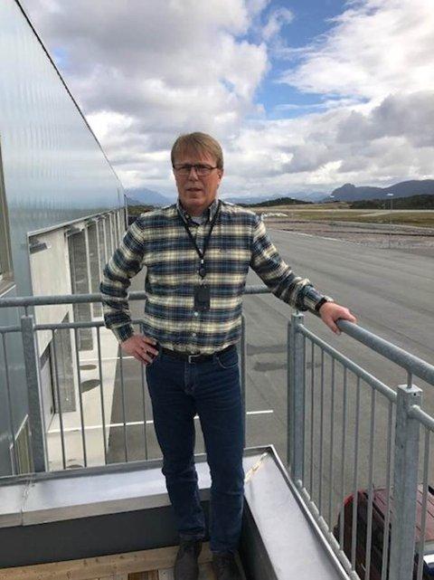 Ola Sandvik blir den nye lufthavnsjefen på Kvernberget.