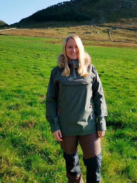 Karianne Ellefsen Skotte er prosjektleiar for «Draumeplassen» og «Fritt fram i Friluft» i Møre og Romsdal.