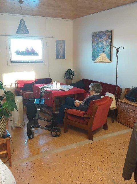 Inn på Tunet: Ambsødegården gir et aktivitetstilbud til sårbare, ensomme seniorer.