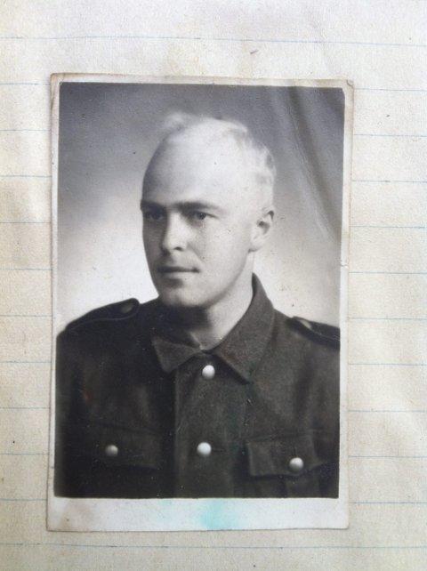 I TYSK FANGENSKAP: Ragnar Ziener Dietrichts var en av Tysklandsstudentene som ble tatt til fange i en storaksjon.
