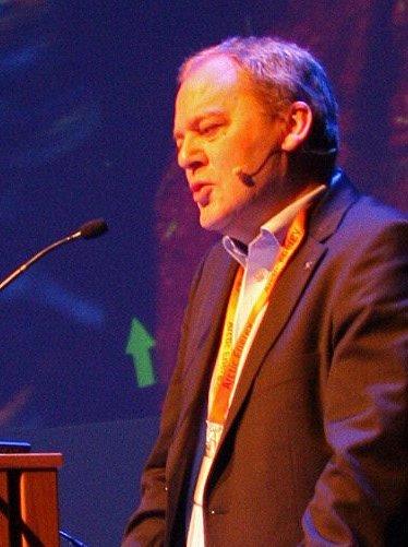FORNØYD: Direktør Morten Loktu i Statoils Drift Nord.