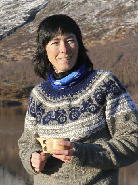 Leder: Anne Krutnes er leder i Brurskanken turlag.