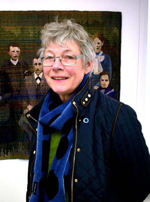 SVÆRT FORNØYD: Dorthe Herup er glad for beslutningen i styret i Haugar Vestfold kunstmuseum.
