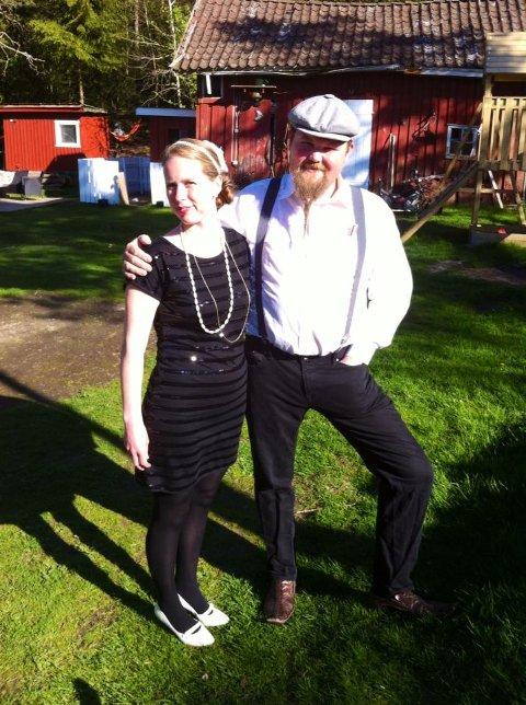 Solveig og Espen Holmen har kjøpt hytta på Jonsrud.