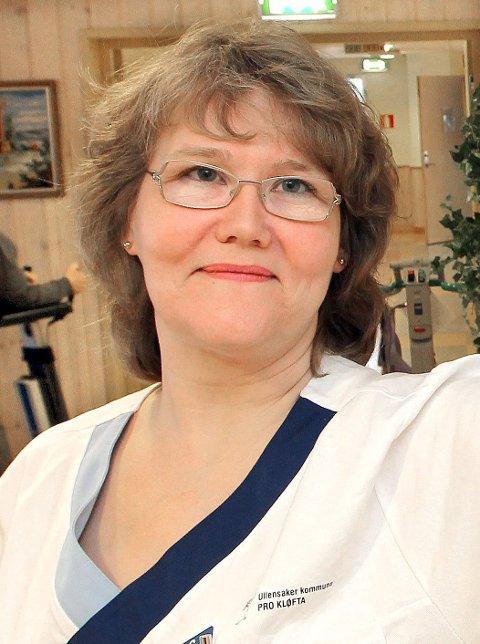 Kløfta: Ranveig Lie, sykepleier på Kløfta Bo & aktivitetsenter, med meninger ifb. 8.mars