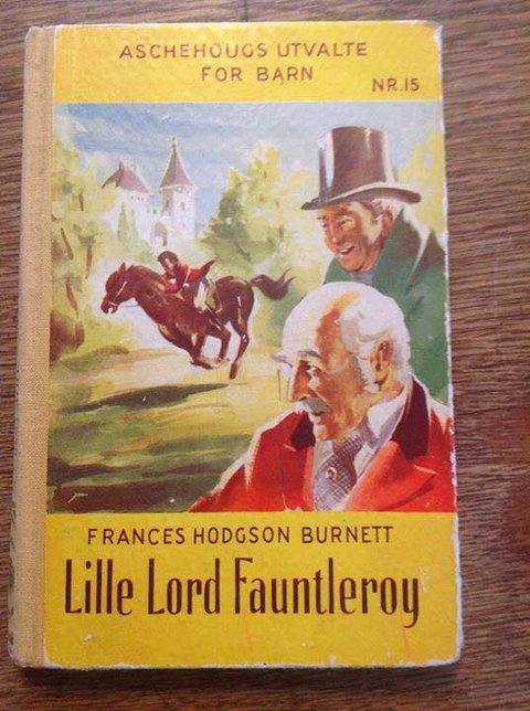 SKJULTE GAMMEL KJÆRLIGHET: I boka om Lord Fauntleroy dukket en gammel kjærlighetserklæring fra 80-tallet opp. FOTO: PRIVAT