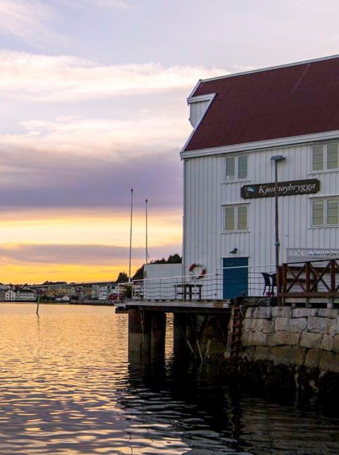 177.000 kroner i tilskott til Kjønnøybrygga i Kristiansund. (Foto: Ole Jakob Ryther)