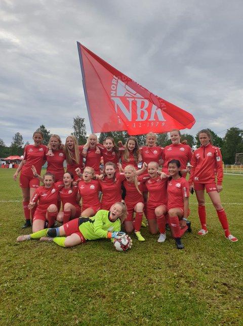 NBK sitt J14-lag tok sin første siger under onsdagens 32-delsfinale mot Tertnes.
