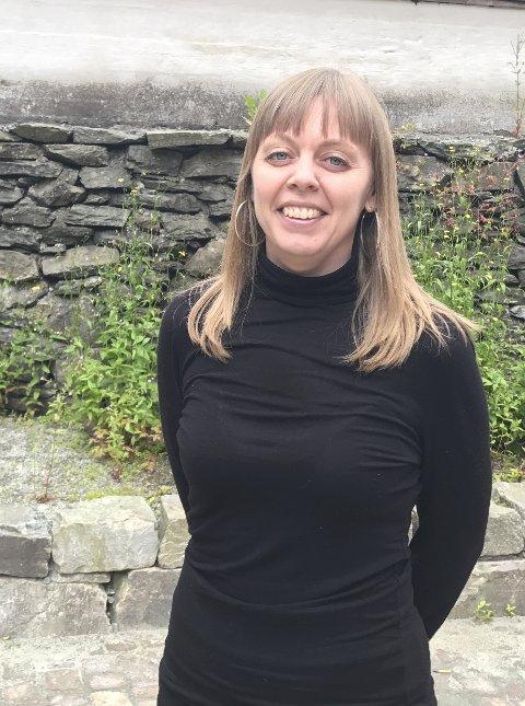 Arkeolog Sigrid Samset Mygland håper ringen vil trekke mange besøkende til bymuseet.