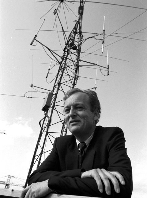 19920507. Jan Wiborg, sivilingeniør Foto: Stein Bjørge / Aftenposten