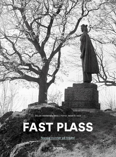 BOK: «Fast plass» av Hilde Herming (red) og Marte Aas (foto) er ei ny bok om norske kvinner som har kommet på sokkel.
