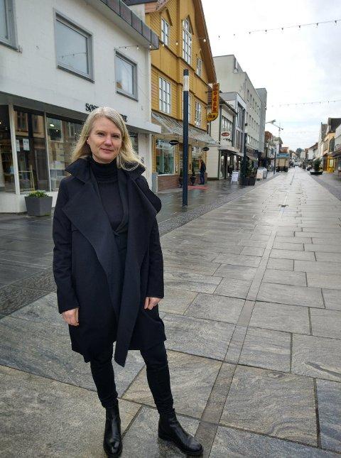 Tanja Rosså Ødegård har fått kontor i Sandnes.