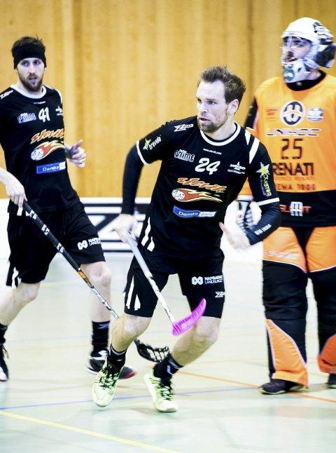 VIKTIG: Thomas Stræte noterte seg for tre assist da Slevik vant på straffeslag i Sandnes.
