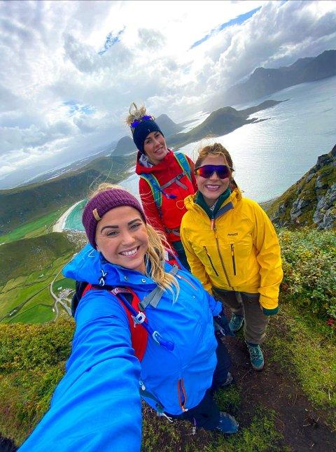 «Mannen» sto høyt på lista over reisemål Sina, Isabell og Helenes ønsket å få med seg under ferien.