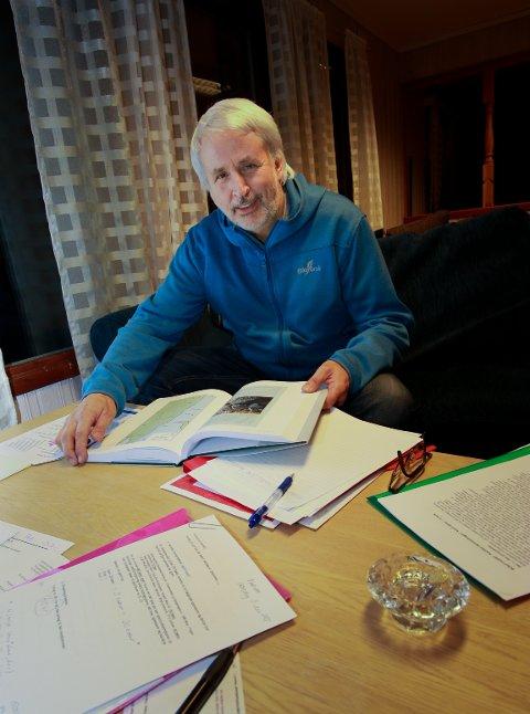 Prosjektleder Lars Olav Brandsæter er glad for å være i mål.